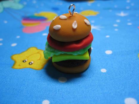 Cheeseburger with Tomato Charm
