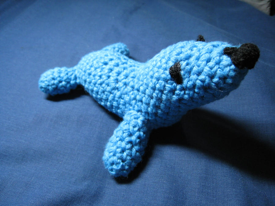 Cute Seal Amigurumi by skookyspry
