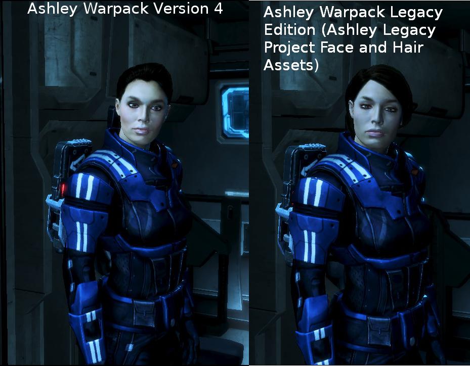 Ashley Warpack: Legacy Edition, Comparison by survivor686