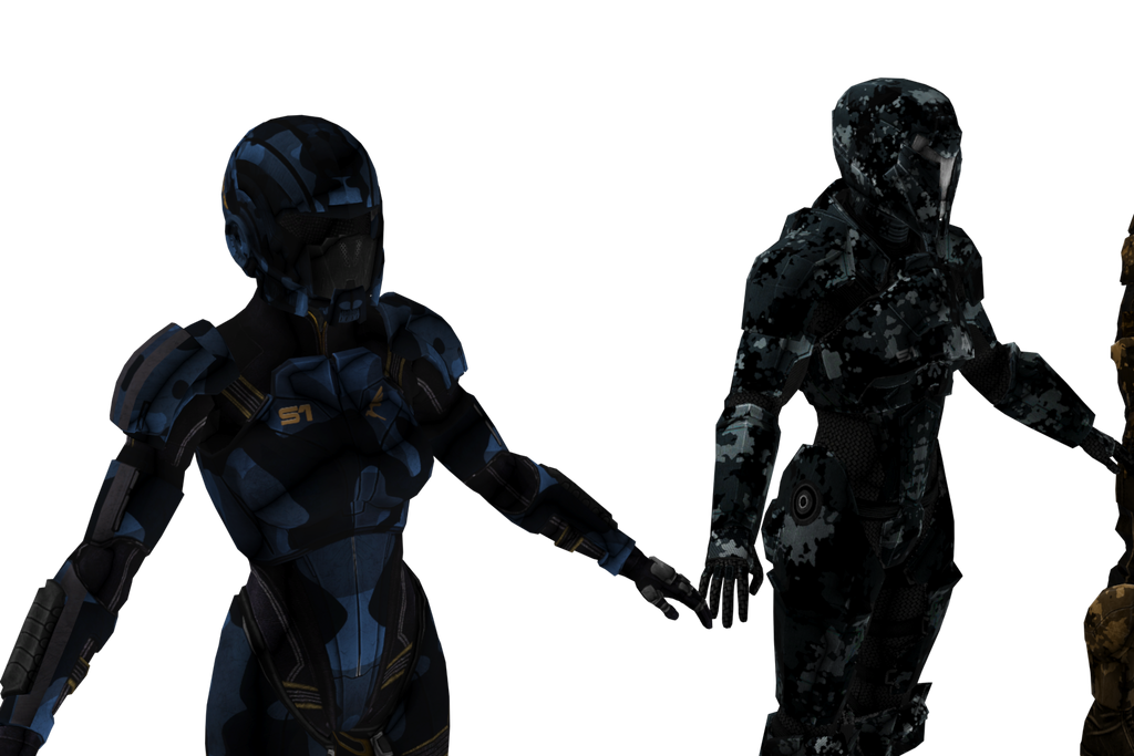 Side by Side (Blue and Terminator) by survivor686