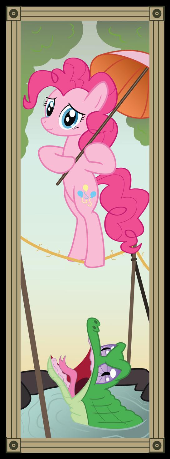 Stretching Portrait - Pinkie by Icaron