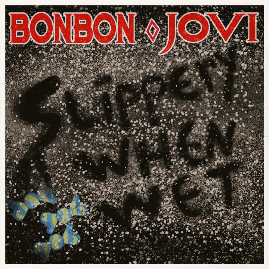 bon jovi album covers slippery when wet wwwpixsharkcom