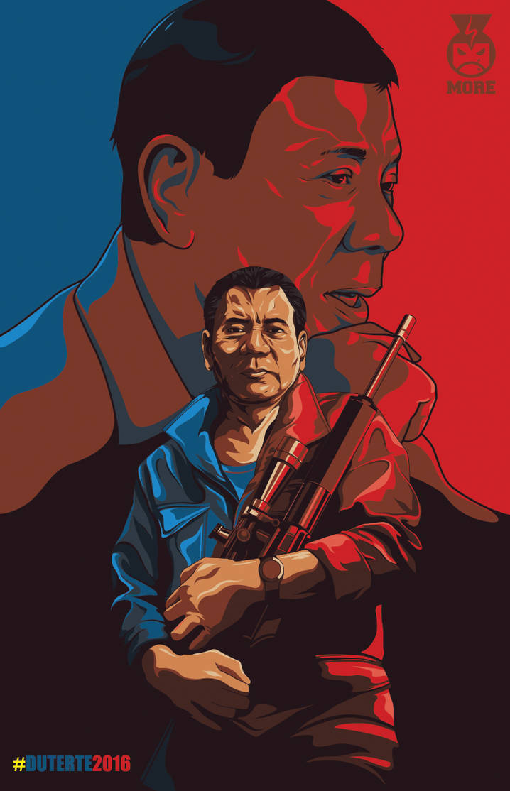 Duterte Poster by Fraviro