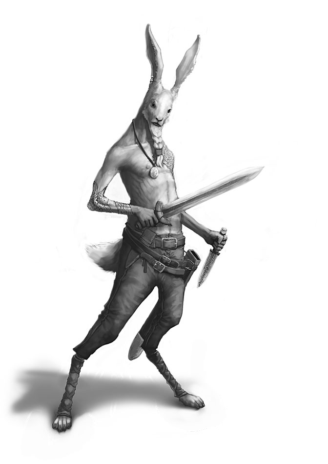 Rabbit Viking by Windmaker