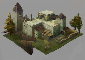 Abandoned Fort by Windmaker