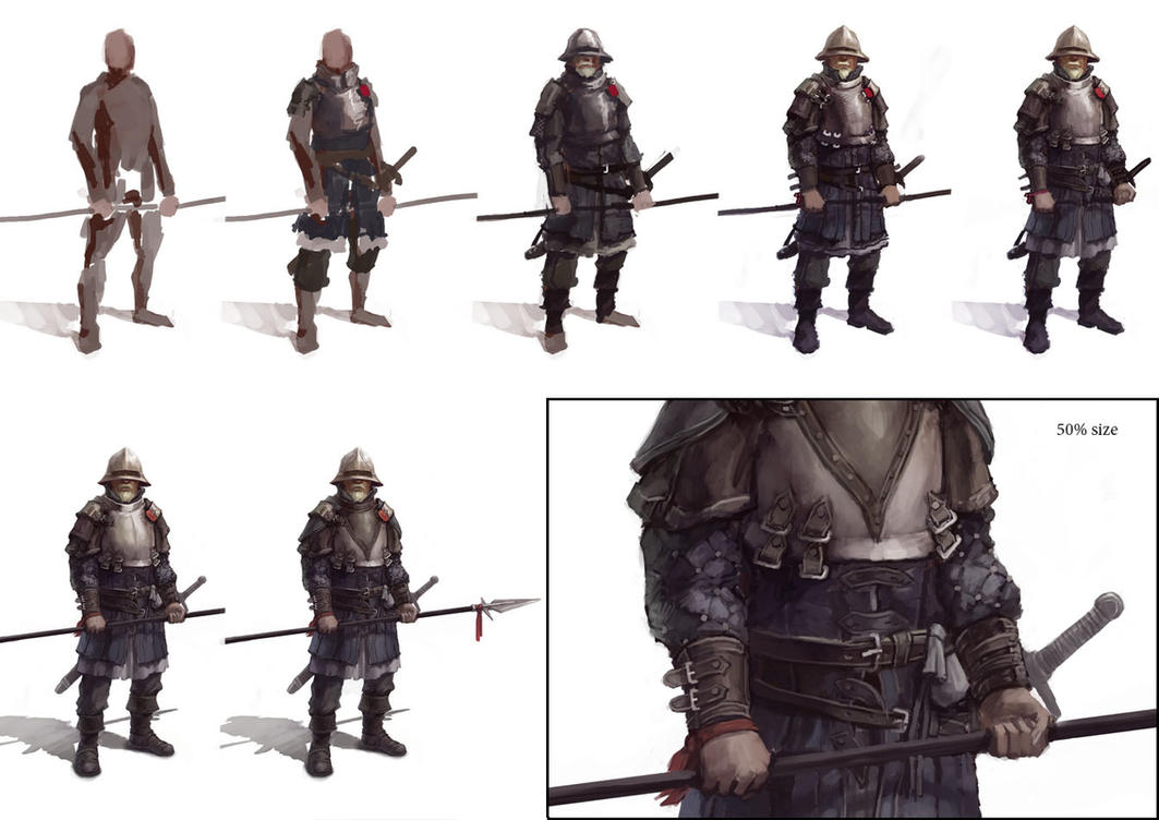 City guard- step by step by Windmaker