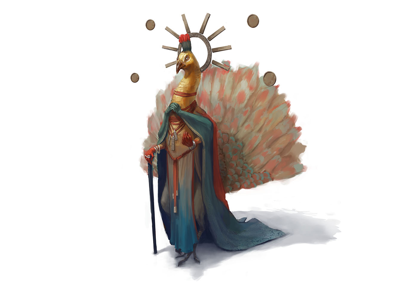 Peacock lord by Windmaker