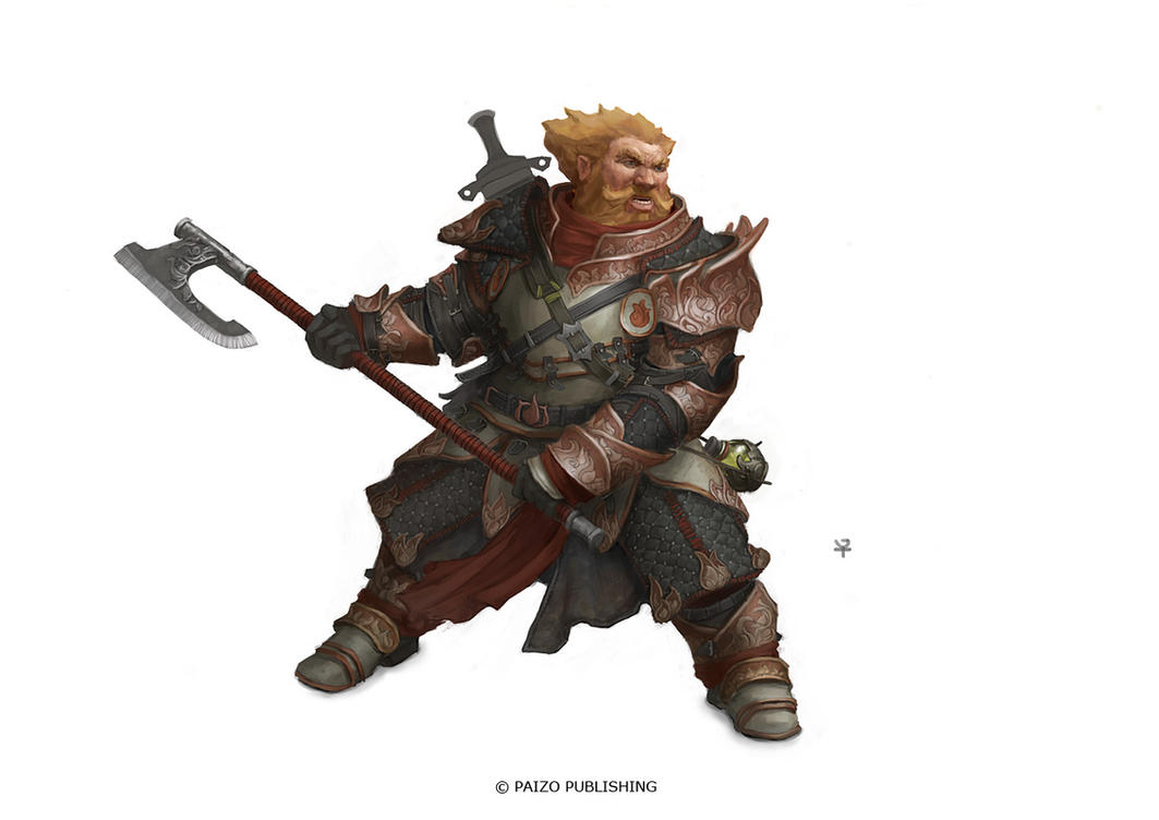Dwarven Warrior by Windmaker