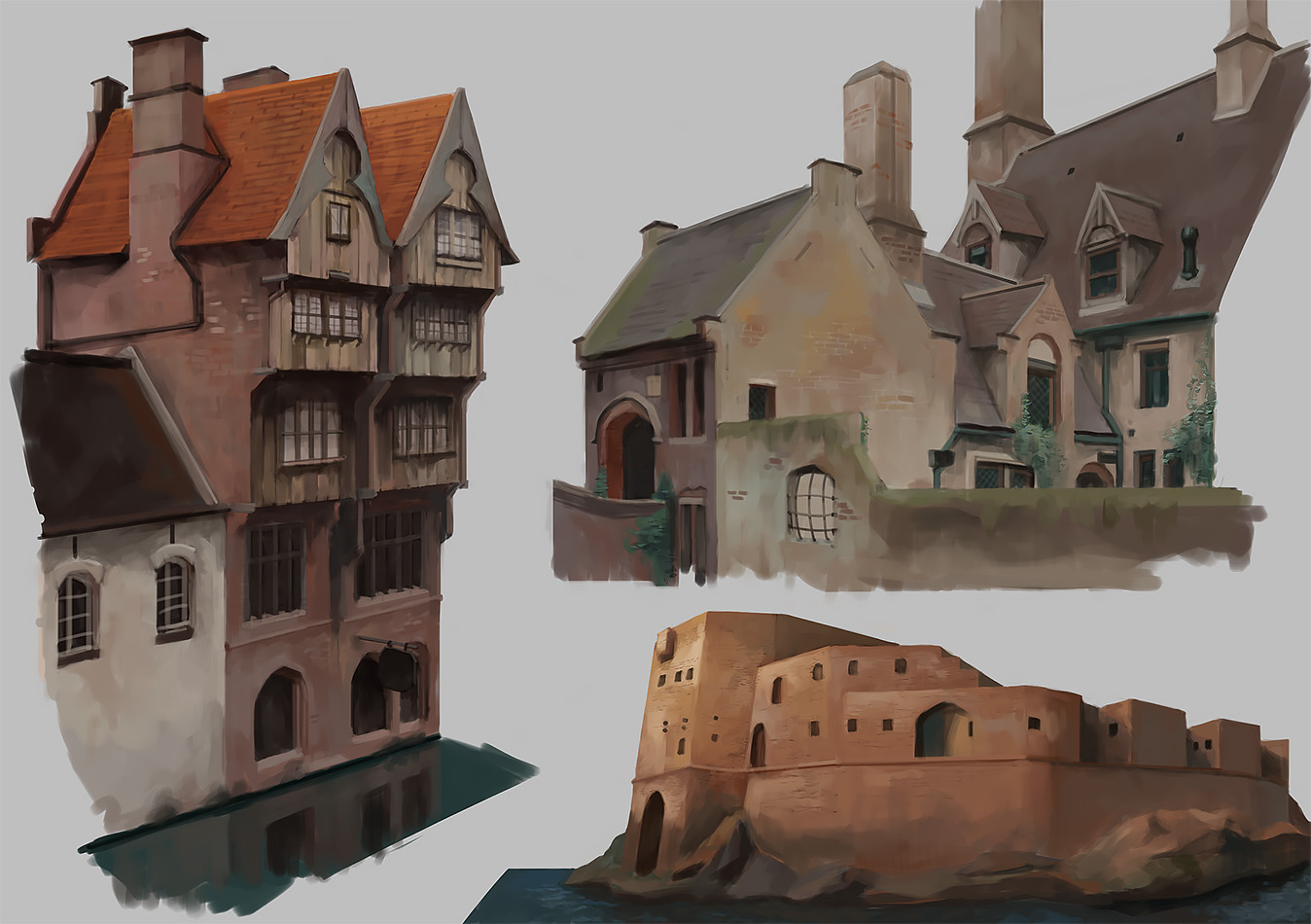 Architecture Studies by Windmaker