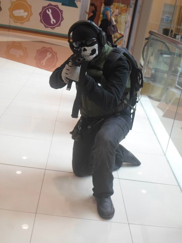 Call of Duty MW2 Ghost by faith-xuan