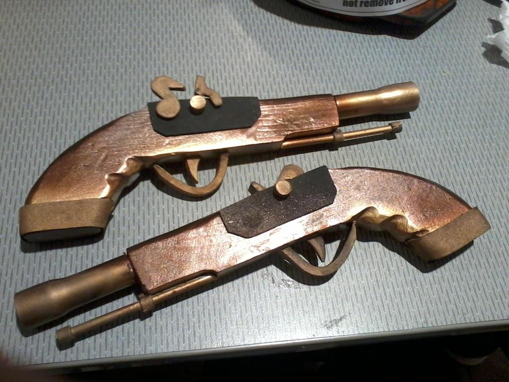 Edward's pistols by faith-xuan