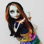 MH Custom Skelita by Thelesia-08