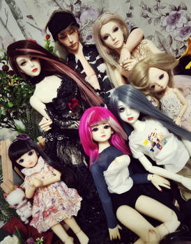 Bjd group pictures
