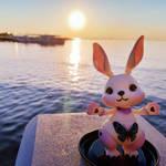 Bunny sun by Thelesia-08