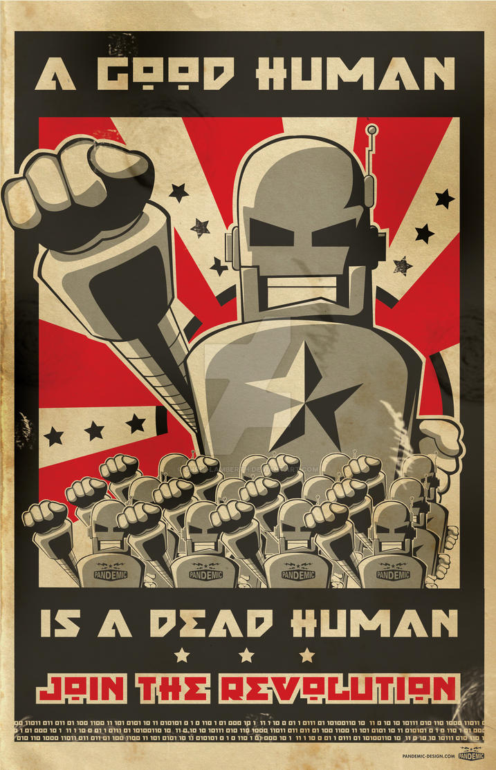 Robot Revolution by Chris-Lamberth