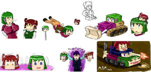 mainly maki and miya