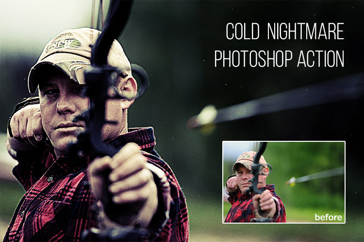 Cold Nightmare: Free Photoshop Action