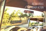 Retro Cross: Free Photoshop Action
