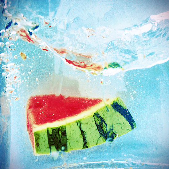 splashy watermelon by ByLaauraa