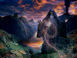 Jeffro the Wizard by ozplasmic