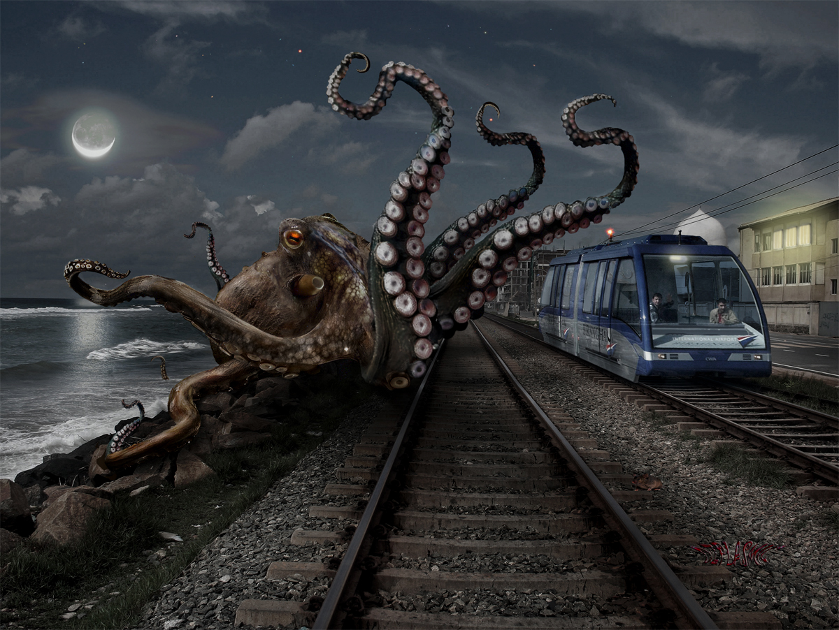 Kraken by ozplasmic