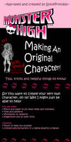 Tips for Making An Original Monster High Character