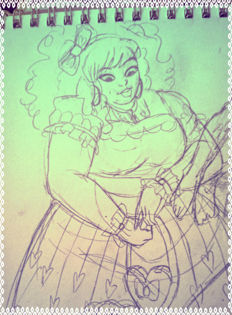 Doodle- Lolita by SpicePrincess