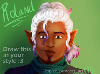 Draw This In Your Style: Roland (v2) by SpicePrincess