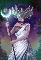 Lunar Ascension  (mask version)