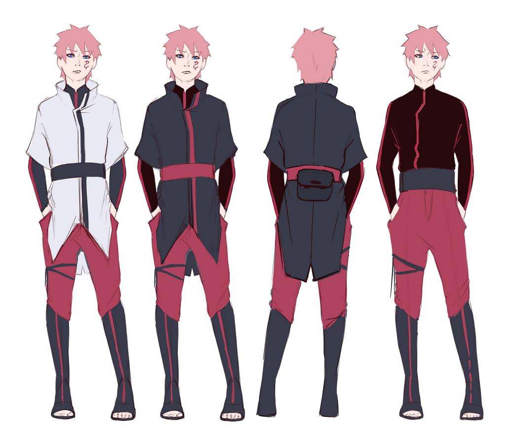 fabulous anime ninja outfit male boy