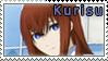 Kurisu Makise Stamp by AlphSteins