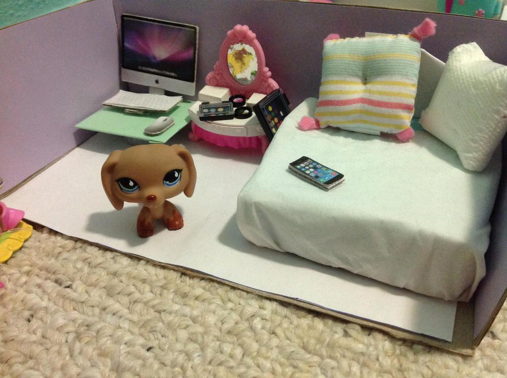 Как сделать кровать для лпс своими руками из картона