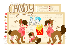 CANDY REFERENCE 2018 | Her heart is bright by DonutDogz