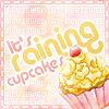 It's Raining Cupcakes Icon by yoosshi