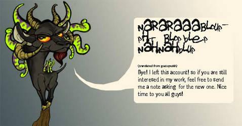 Goatopus wants you