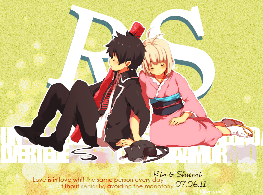 blue exorcist rin and shiemi relationship quotes