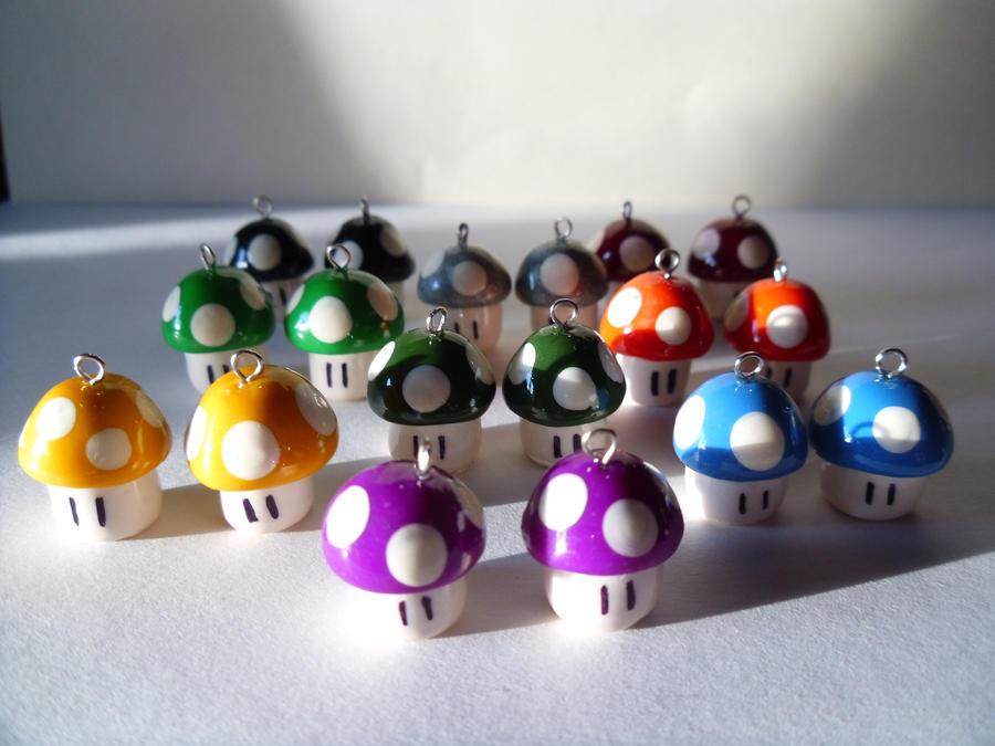 Fan Art Nintendo Mario Brothers Mushroom Army