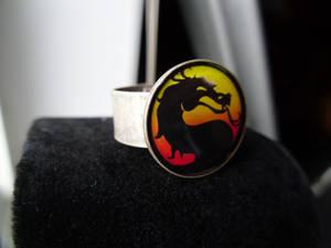 Fan Art Mortal Kombat Ring Resin