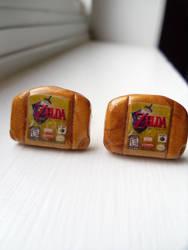 Fan Art Legend of Zelda N64 Cartridge Cufflinks
