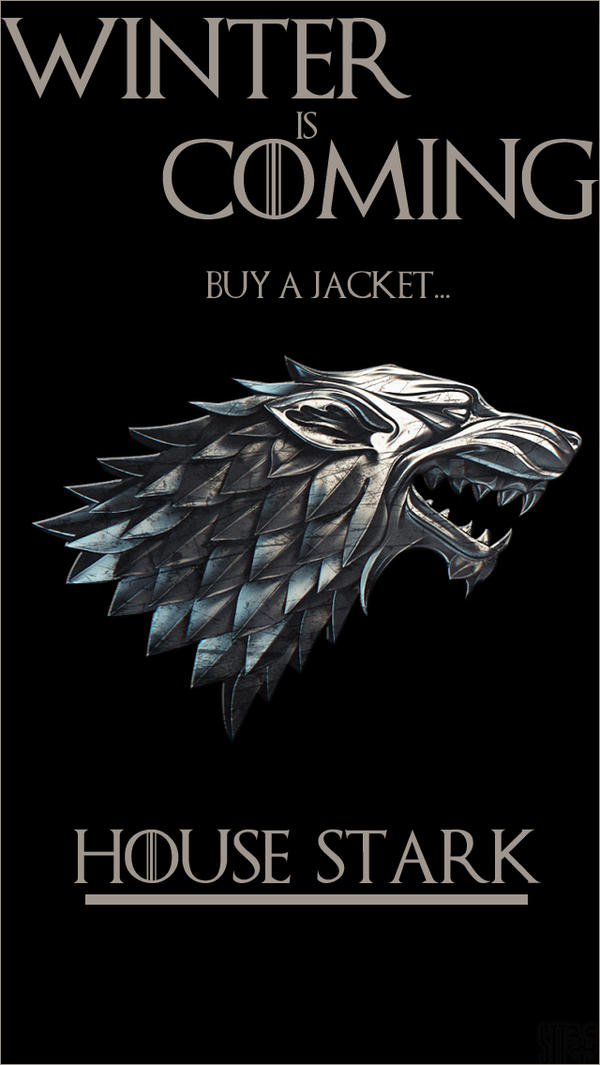 House Stark Game Of Thrones Iphone Wallpaper By Sttvuk On Deviantart