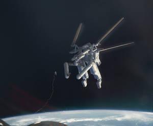VR sculpture test: Space Race
