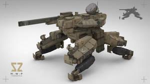 Heavy Mobile Weapon Platform -- Tarantula