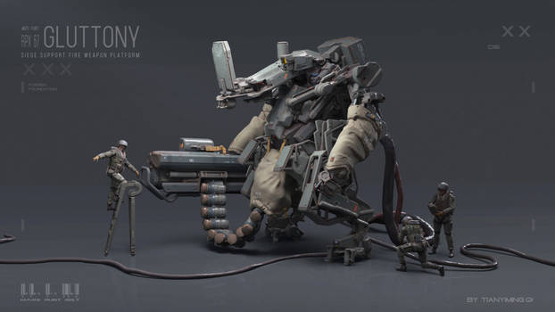 VR sculpture test: Gluttony