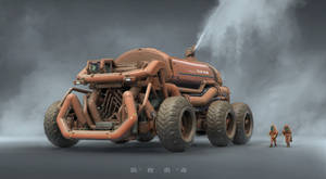 VR Based Design / Heavy Disinfection Truck - Crab