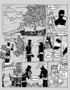 Ninja Handshake