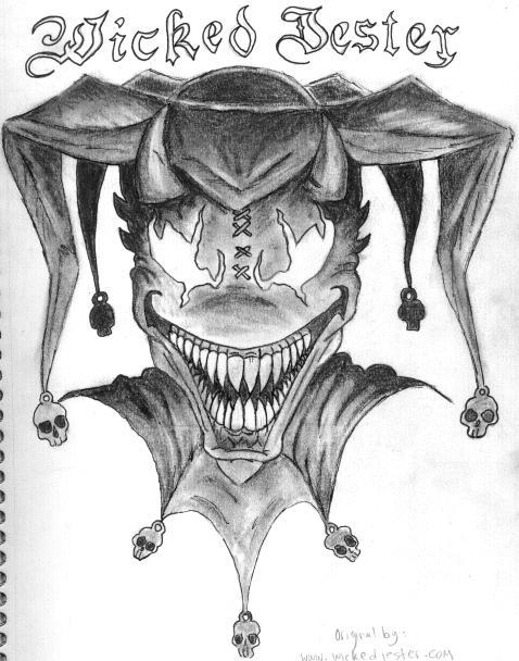 Wicked Jester by solsticefyre on DeviantArt