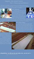 Sayaka Miki Cosplay Sword Tutorial- Part 1:Pattern