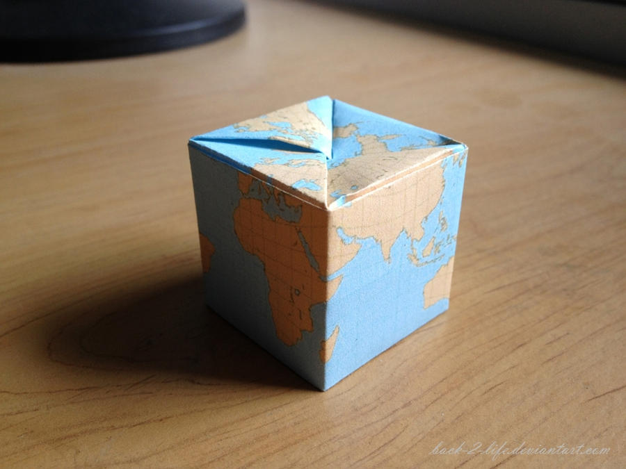 Minecraft Globe by Back-2-Life
