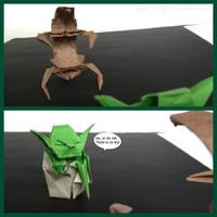 Yoda vs Droideka