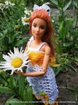 Crocheted Dress for Barbie by Mila7Pim